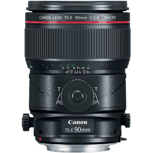 Canon EF TS-E 90mm F/2.8L MACRO - Objectif