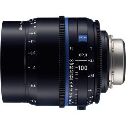 OPTIQUE ZEISS CP3 100mm T2.1 MONT PL IMPERIAL