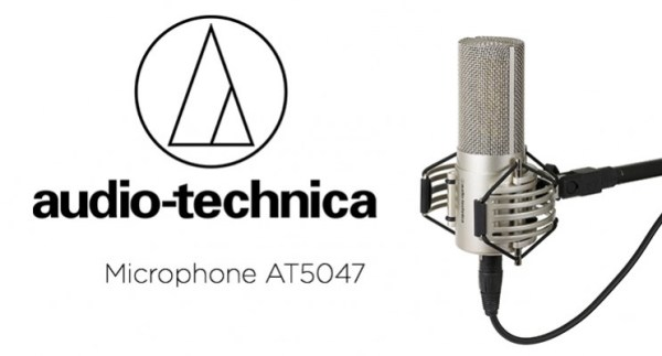 Audio-Technica lance le microphone AT5047