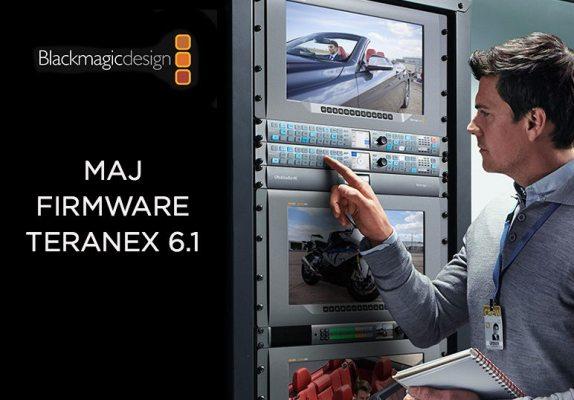 Mise à jour du Blackmagic Teranex 6.1