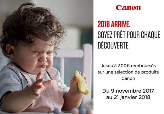 Offre Canon Hiver 2017