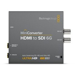 MINI CONVERTISSEUR BLACKMAGIC HDMI VERS SDI 6G