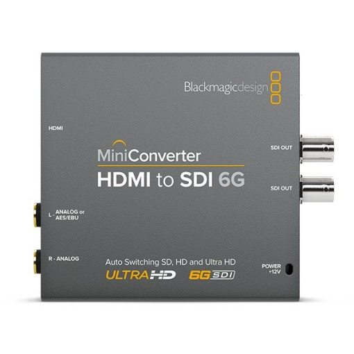 Blackmagic Design HDMI to SDI 6G Mini Converter - Mini Convertisseur