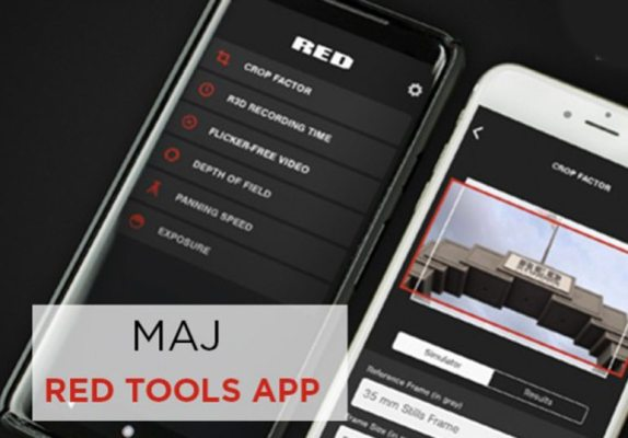 Mise à jour de l'application RED Tools App