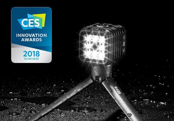 La torche LITRA récompensée aux CES Innovation Awards 2018