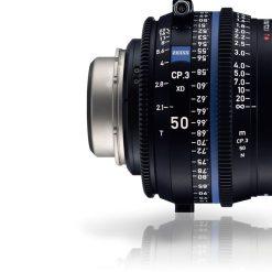 ZEISS CP.3 50mm T2.1 Monture PL Métrique XD eXtended Data - Objectif Prime