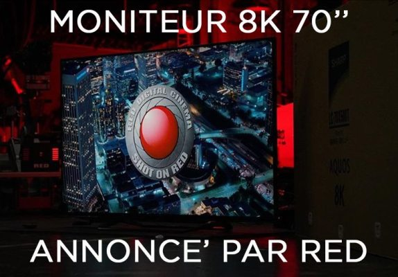 Moniteur 8K RED