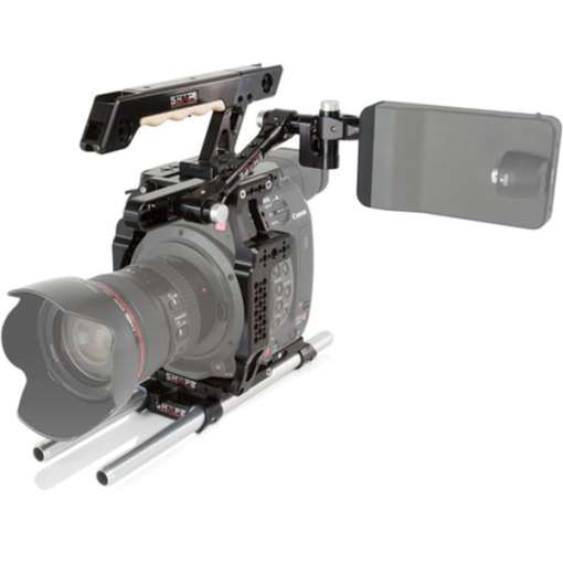 CAGE AVEC TOP HANDLE BASE PLATE ET SUPPORT EVF SHAPE