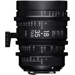 OBJECTIF SIGMA 18-35MM T2 F/AP (Ø82mm) PL METRIQUE