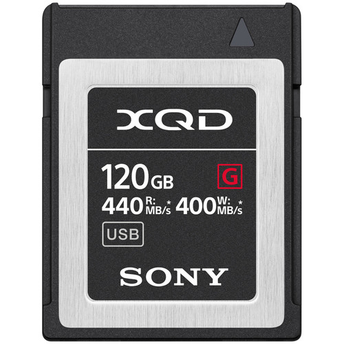 CARTE XQD 120GB SONY QD-G120F