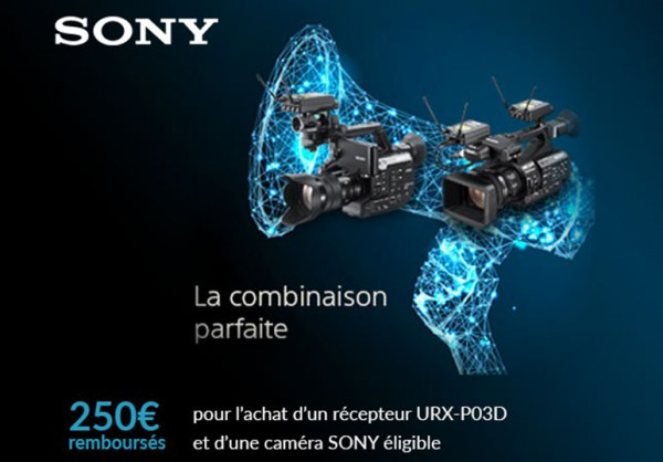 promotion sony UWP-D dual Channel