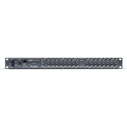AJA KUMO 1616-12G Compact 12G-SDI - Grille de commutation