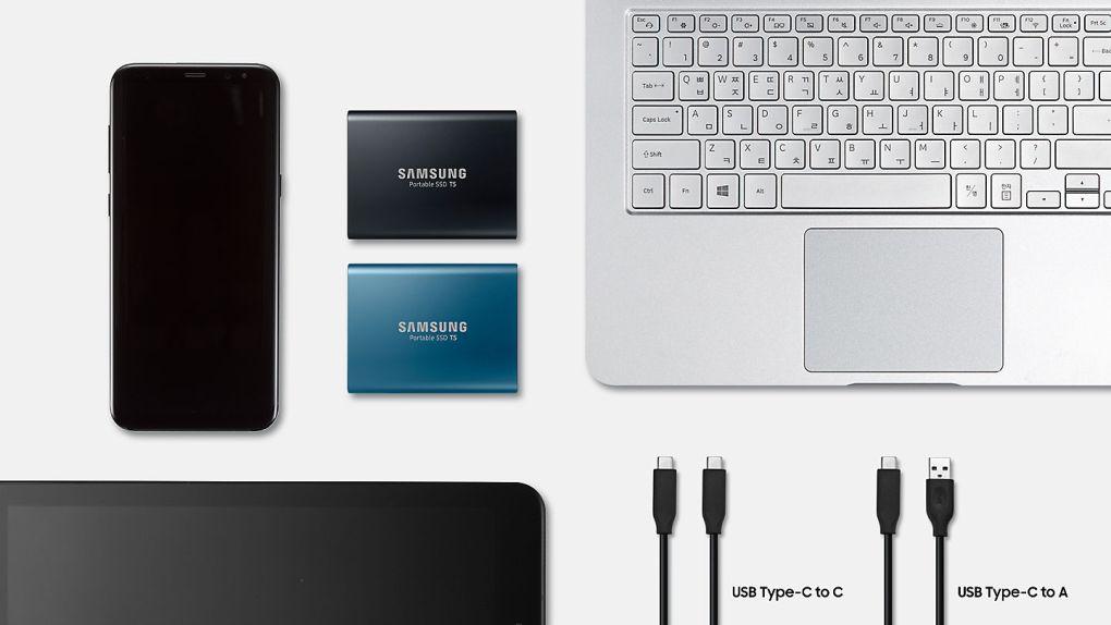 DISQUE SSD SAMSUNG T5 500 GO