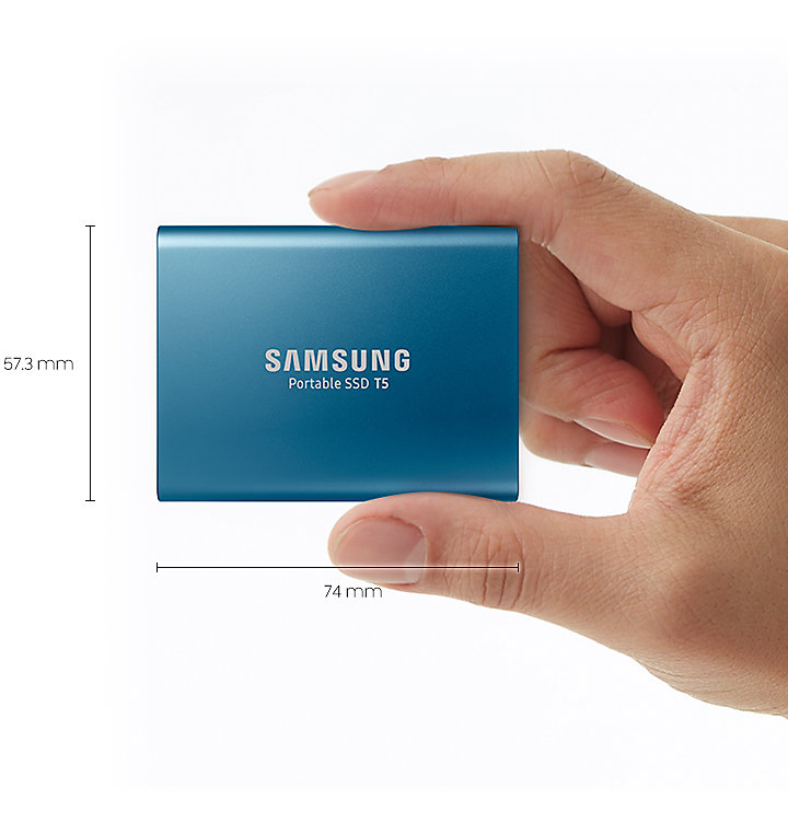 DISQUE SSD SAMSUNG T5 500 GO