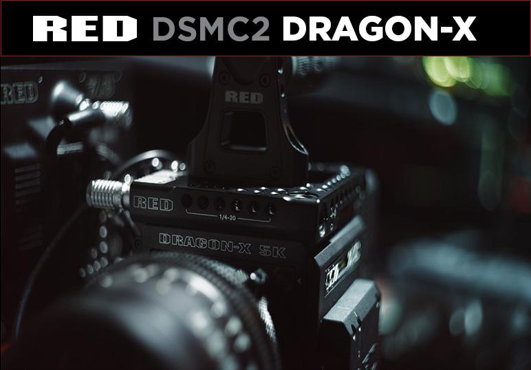 La nouvelle caméra RED DRAGON-X: capteur plébiscité & traitement d'image IPP2