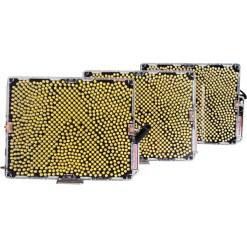 KIT 3x PANNEAU LED APUTURE TRI-8SSC (2xTri-8s 1xTri-8c)