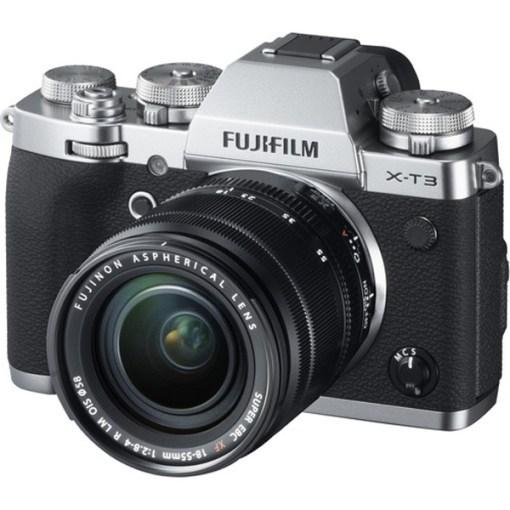 Fujifilm X-T3 Silver + 18-55mm - Kit Appareil Photo et Objectif