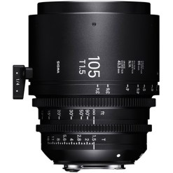 OBJECTIF SIGMA 105 MM T1.5 FF CANON EF
