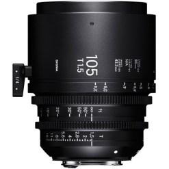 OBJECTIF SIGMA 105 MM T1.5 FF PL