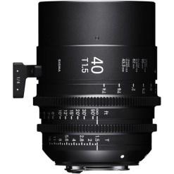 Sigma 40mm T1.5 FF Monture EF - Objectif Prime