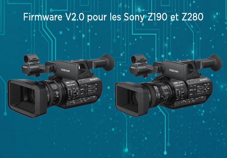 mise a jour logicielle firmware v2.0 sony