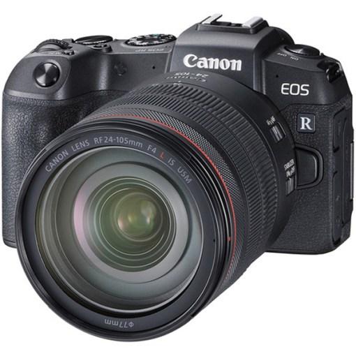 Canon EOS RP avec RF 24-105mm et Bague d'adaptation - Kit Appareil Photo et Objectif