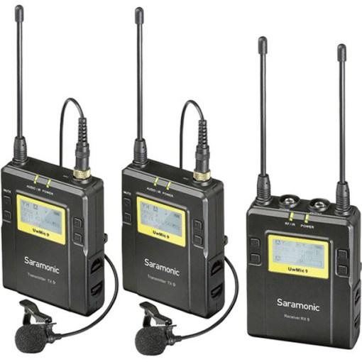 Saramonic RX9TX9TX9 - Kit HF Micro Cravate Émetteur Récepteur