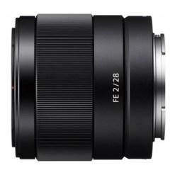 Sony E 28mm F2 - Objectif
