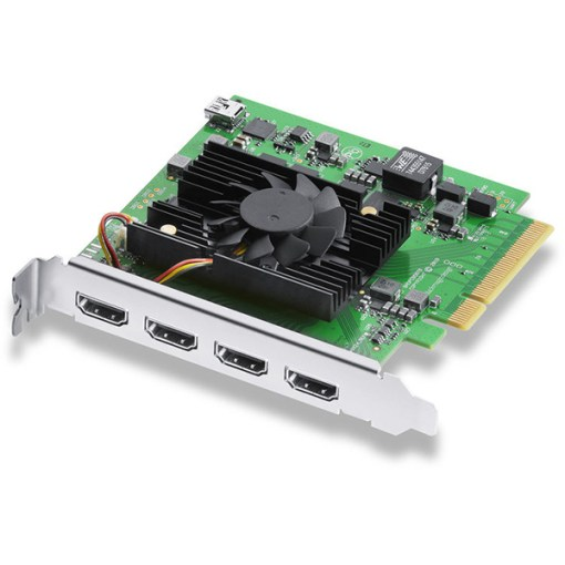 CARTE PCIe BLACKMAGIC DECKLINK QUAD HDMI RECORDER