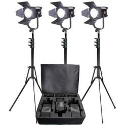 PANNEAUX LED FRESNEL KIT 3X LEDGO LG-D600