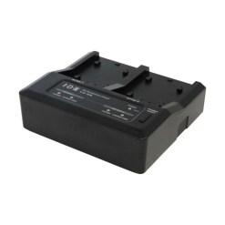 IDX LC-2A - Chargeur 2 Canaux pour Batteries Canon, Panasonic et Sony