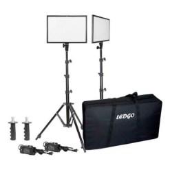 Kit 2x Panneaux LED Ledgo LG-E268C
