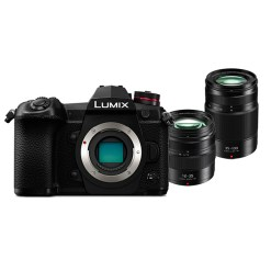 Panasonic Lumix DC-G9  + 12-35mm + 35-100mm