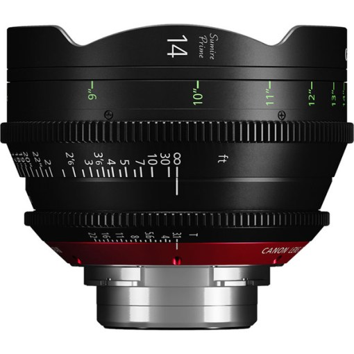 Canon Sumire Prime 14mm T3.1 Impérial Monture PL - Objectif Prime Cinéma