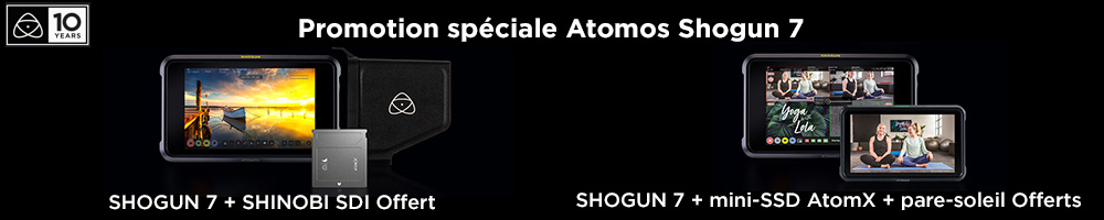 Atomos Shogun 7 - moniteur