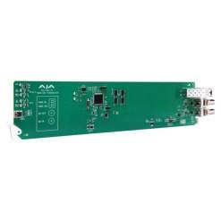 CARTE OPENGEAR 1 CANAL 3G-SDI/LC VERS FIBRE MULTI-MODE AJA OG-FIDO-TR-MM