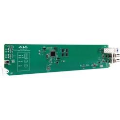 CARTE OPENGEAR 1 CANAL 3G-SDI/LC VERS FIBRE AJA OG-FIDO-TR