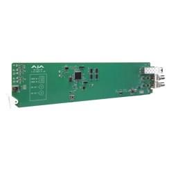 CARTE OPENGEAR 2 CANAUX FIBRE VERS 3G-SDI MULTI-MODE AJA OG-FIDO-2R-MM