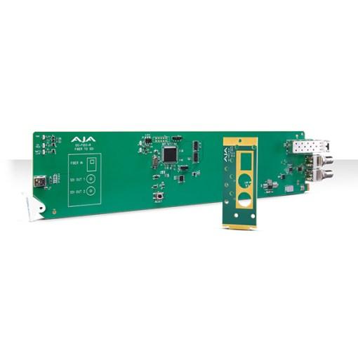 CARTE OPENGEAR 1 CANAL FIBRE VERS 3G-SDI AJA OG-FIDO-R