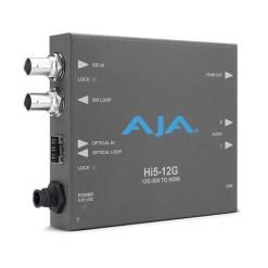 AJA Hi5 12G 12G-SDI vers HDMI 2.0 - Mini Convertisseur