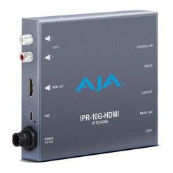 AJA IPR-10G-HDMI - Décodeur SMPTE ST 2110 Video et Audio IP vers HDMI
