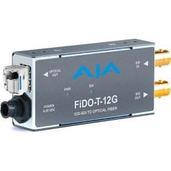 AJA FiDO-T-12G - Convertisseur 1 canal 12G-SDI vers Single Mode LC Fiber