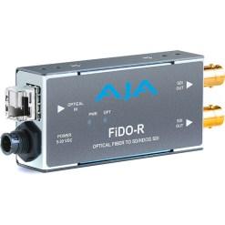 AJA FiDO-R-MM - Convertisseur 1 canal Multi-Mode LC Fiber vers 3G-SDI