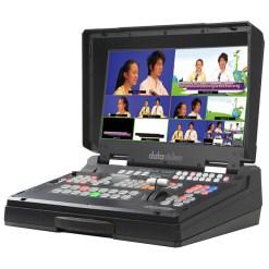 Datavideo HS-1300 - mélangeur vidéo 6 entrées HD & streaming