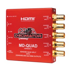 Decimator Quad 3G/HD/SD-SDI - boîtier multiviewer