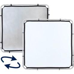 Lastolite Skylite Rapid Fabric Argent/Blanc 1,1x1,1m - Réflecteur