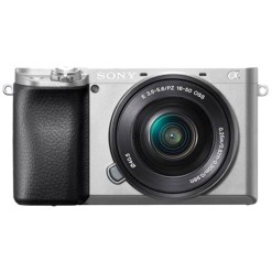 Sony Alpha 6100 Silver avec 16-50mm - Appareil photo avec objectif