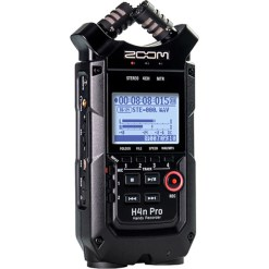 ZOOM H4n Pro Noir – Enregistreur Audio