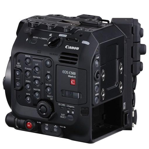 Canon EOS C500 Mark II - Kit caméra + carte 512Go + lecteur