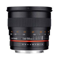 Samyang 50mm F1.4 AS Umc Canon - objectif